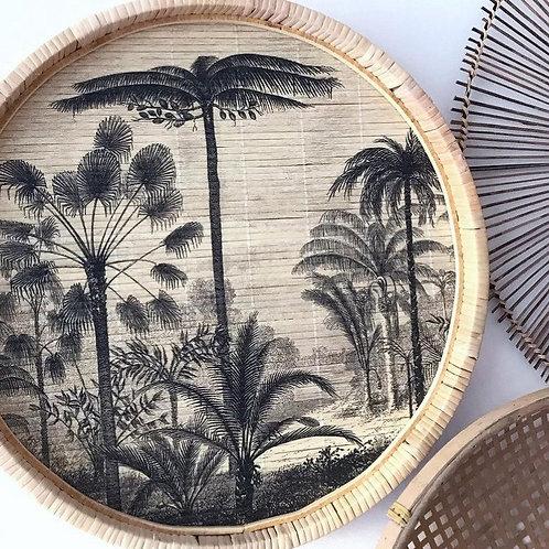 Wandbord - Palm ø 42cm