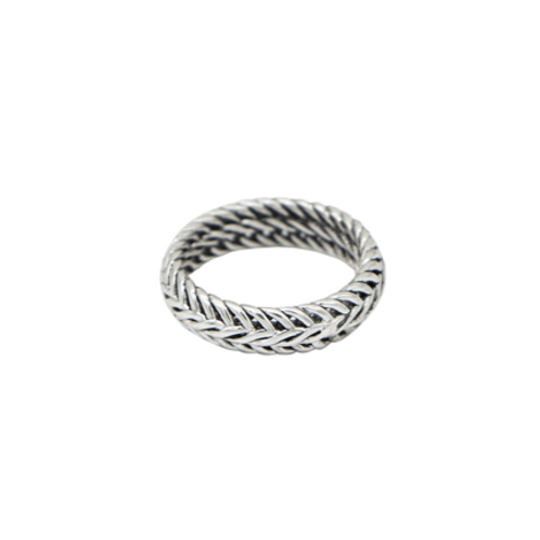 Ring Lovely Braid - zilver