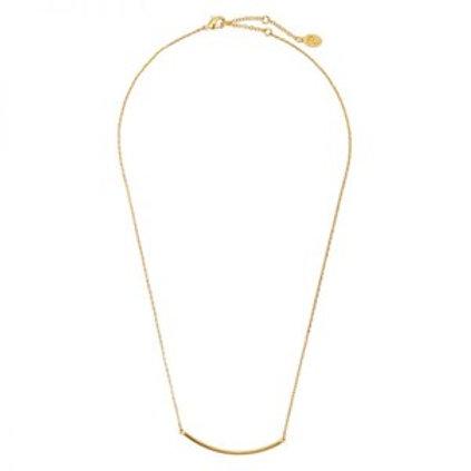 Ketting Minimalistic Bar - goud 39cm