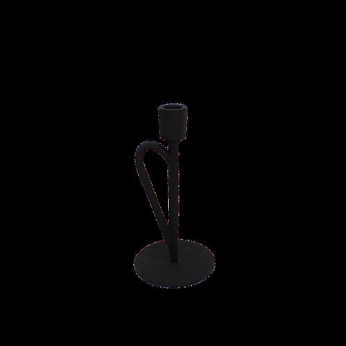 Kandelaar met oor - metaal