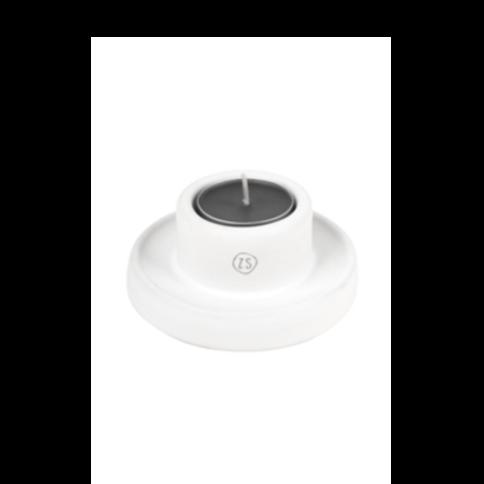 Zusss - Waxinelichthouder keramiek wit