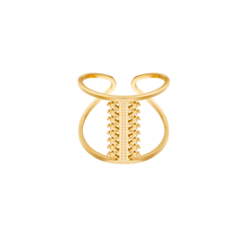 Ring Woven - goud