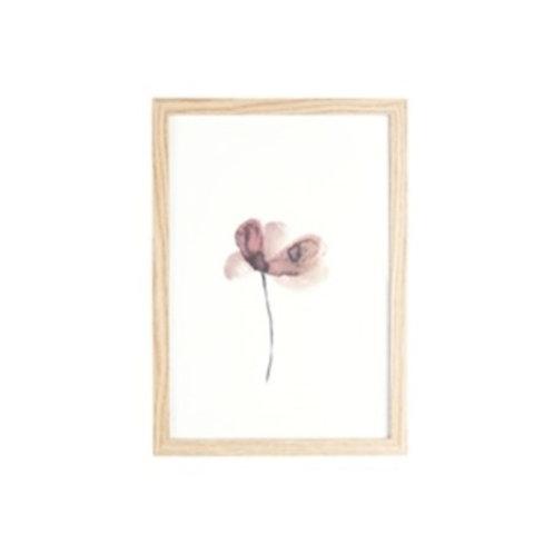 Fotolijst - Wall art Flower
