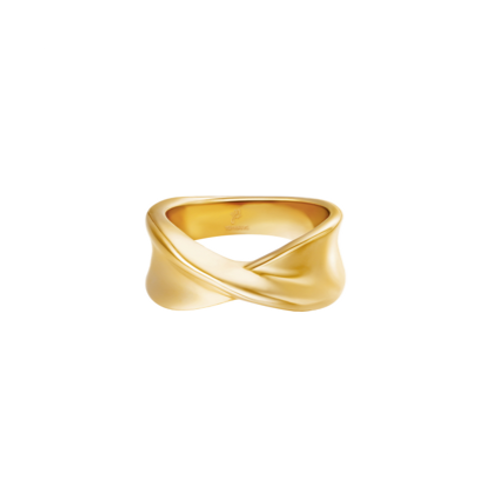 Ring Twist It - goud