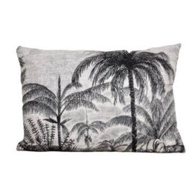 Sierkussen -  Palm rechthoekig