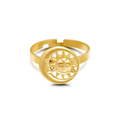 Ring Moonlight - goud