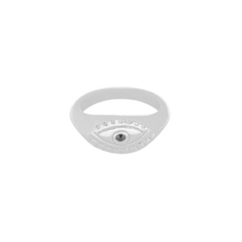 Ring Curious Eye - zilver