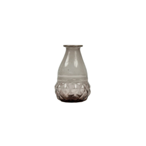 Vaasje  - Manju H12 cm recycled glas
