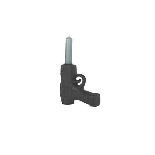 Kandelaar - Gun zwart