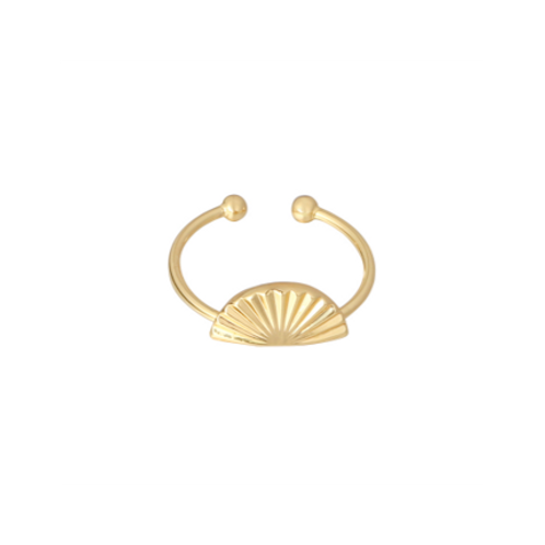 Ring Shell Screen - goud