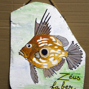 poisson_ peinture bois flotté