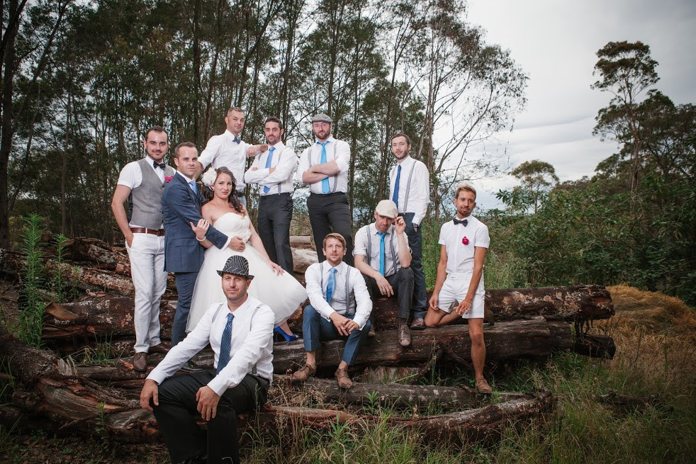 Sydney bush wedding