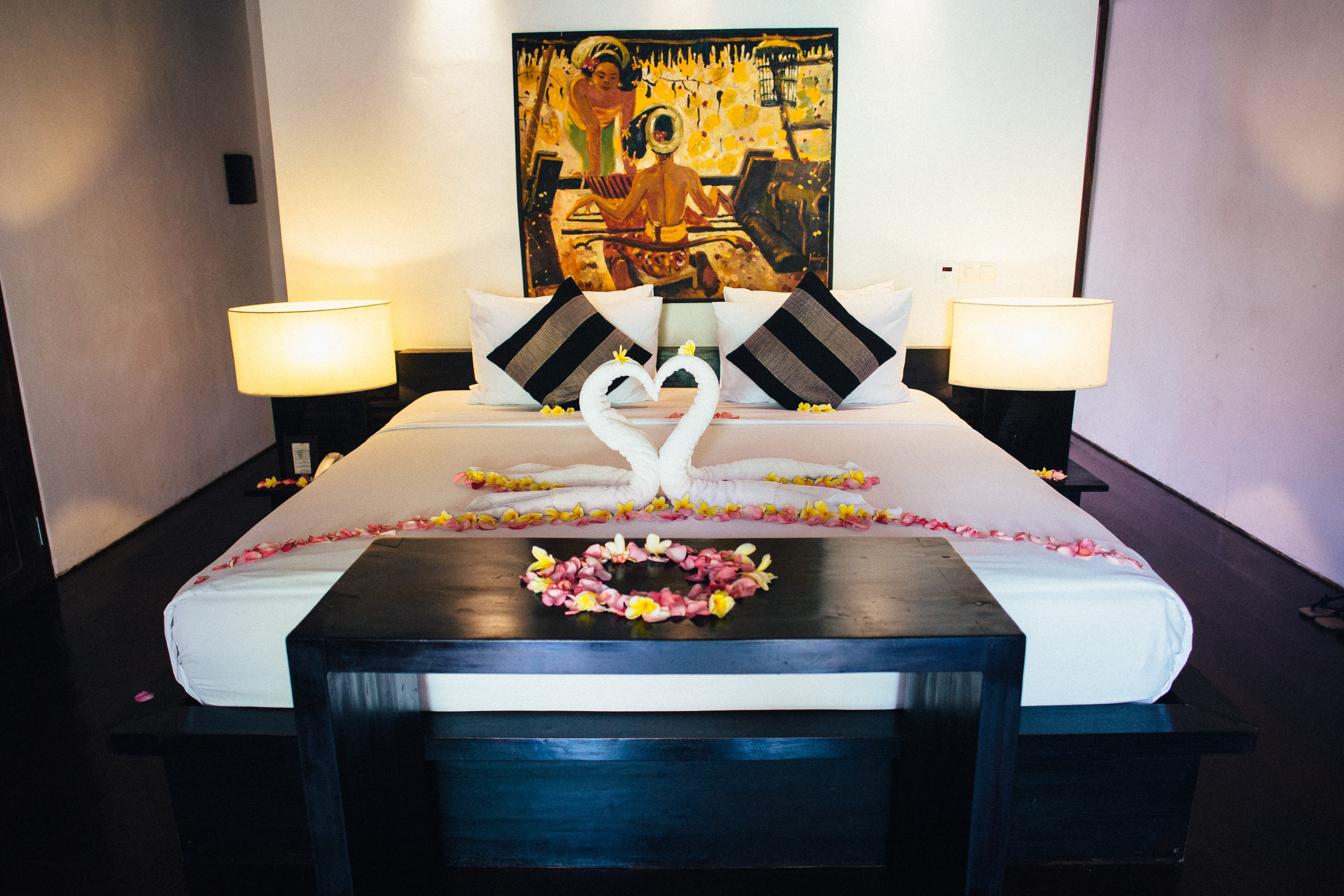 Balinese wedding suite