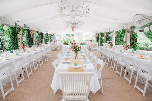 Garden Wedding, Marquee Wedding, Reception