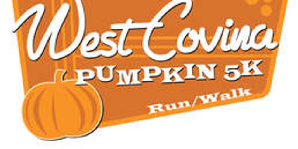 6th Annual West Covina Pumpkin 5K Run/Walk and 1K Fun Obstacle Course Run