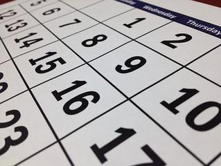 Area Calendar of Events
