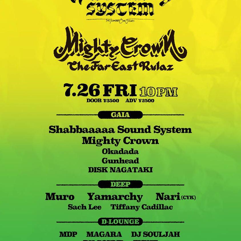 SHABBAAAAA × Mighty Crown