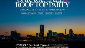 <NINE RULAZ LINE>Garage Sale and Rooftop Party