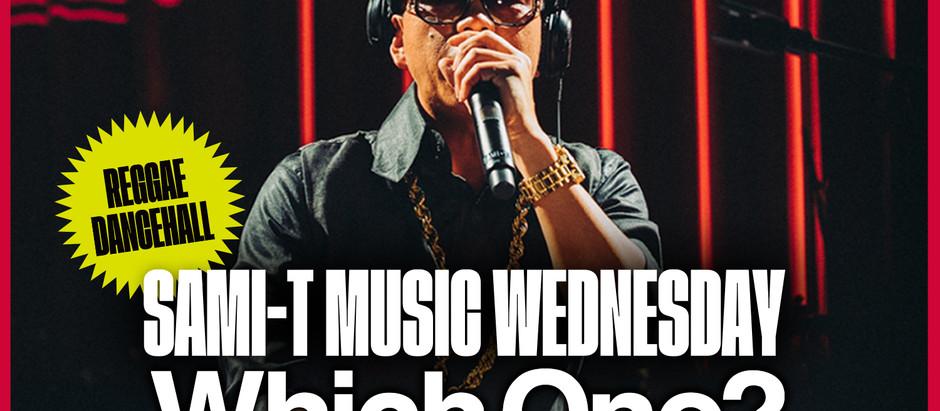 """[2020.6.24(水)21時より生放送] MUSIC WEDNESDAY!新企画 SAMI-Tによるトーク&ミックス"""" Which One?"""