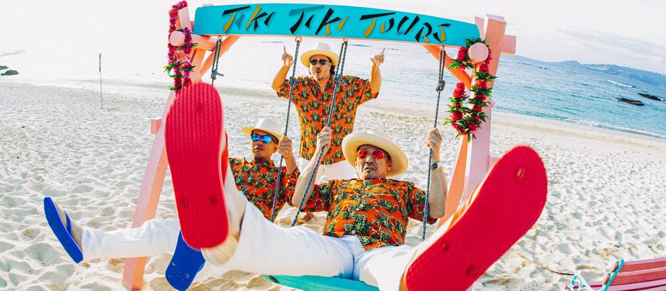 """構想3年。突如動き出した横浜×沖縄のスーパータッグ。We are """"Tiki Tiki Tours""""【SAMI-T参加新プロジェクト】"""