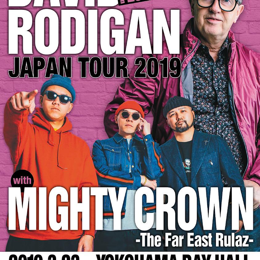 DAVID RODIGAN Japan Tour 2019 with MIGHTY CROWN<横浜>