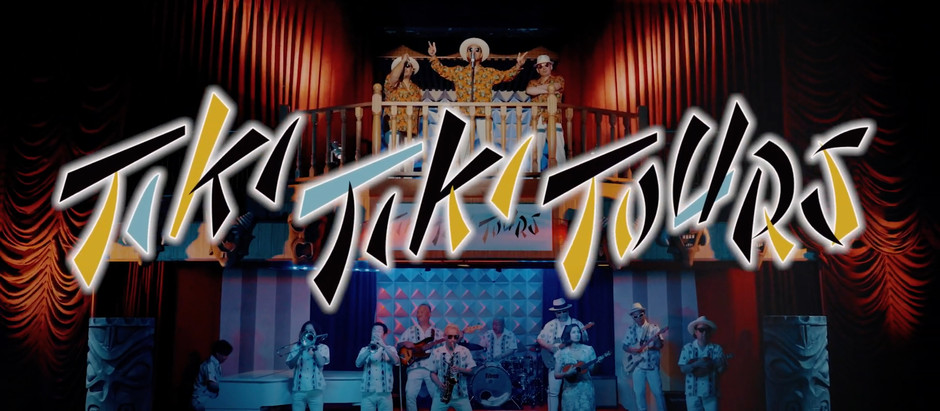 Tiki Tiki Tours - TIKI TIKI Official Music Video 公開しました