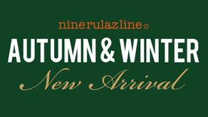 NINE RULAZ LINE 2021 A/W ONLINE UP DATE