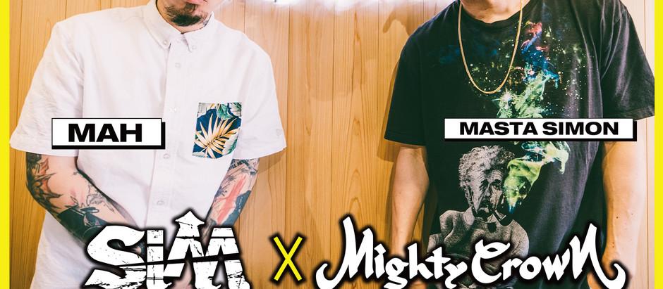 MAH from SiM x MASTA SIMON from MIGHTY CROWN レゲエ・パンクス!スペシャル対談 【SPECIAL CONVERSATION】