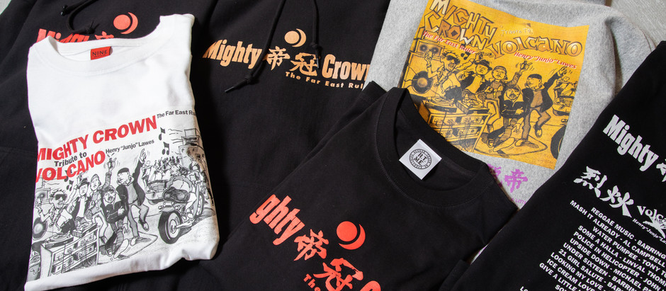 MIGHTY CROWN「TRIBUTE TO VOLCANO」20周年& 24×7 RECORDS 20周年記念コラボ・アイテム2020年12月16日発売開始
