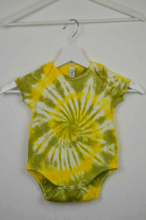 IMUT - Baby Strampler grün