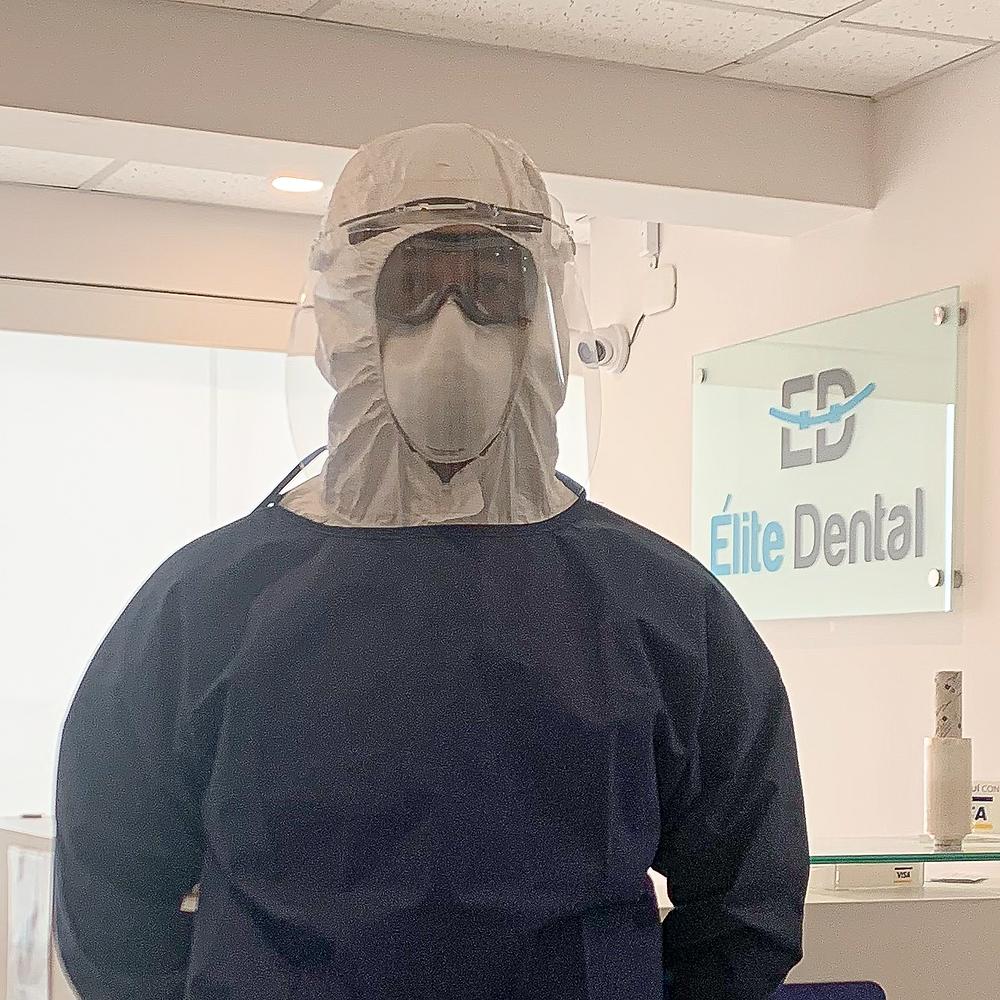 Es el EPP que usamos en Elite Dental
