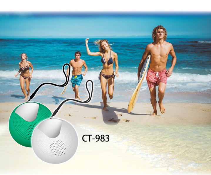 CT983 Outdoor Radio ideal for Beach, Pool side, IPX4 approved.jpg