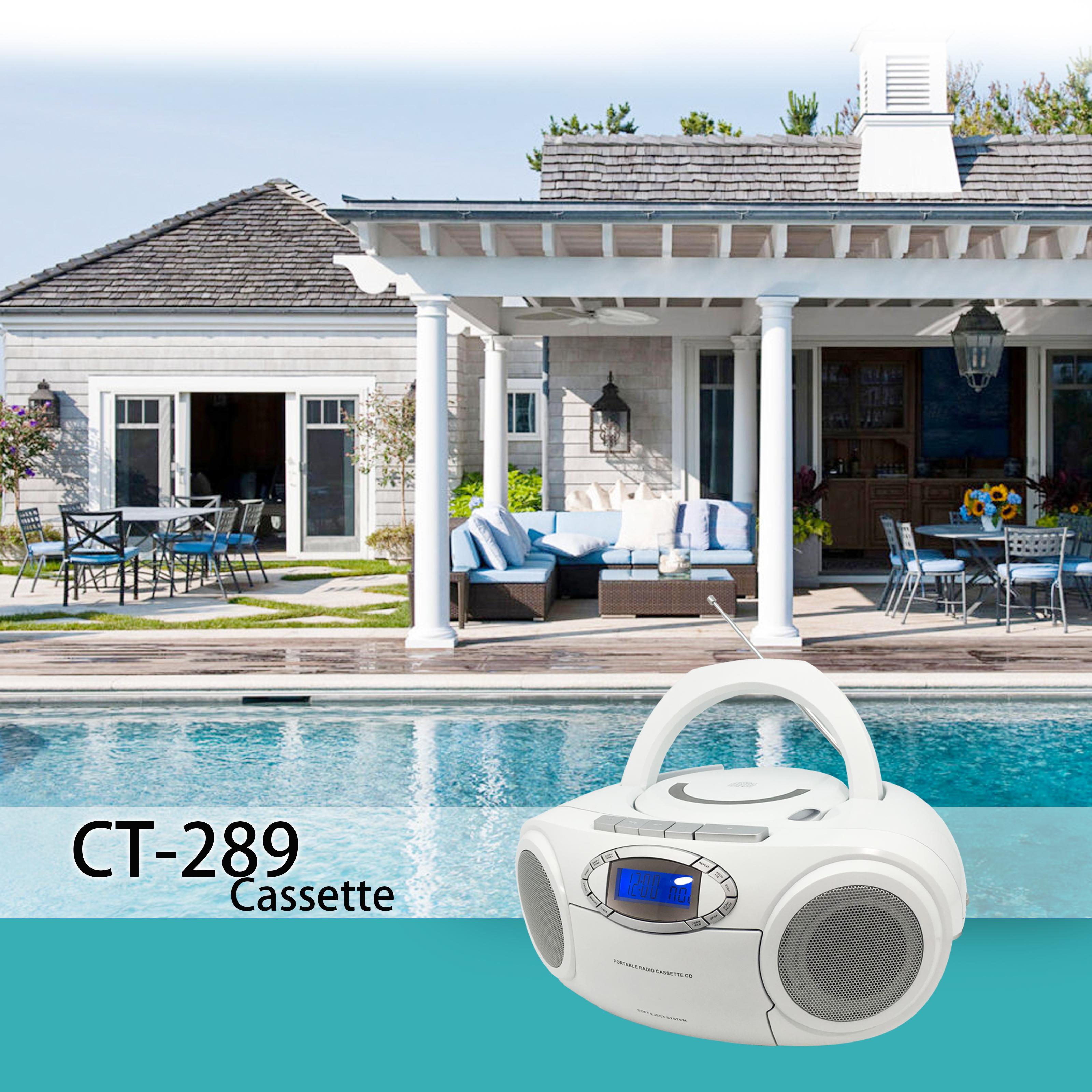 CT-289 Cassette poolside.jpg