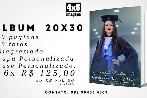 Photobook 20x30cm Com Estojo Personalizado