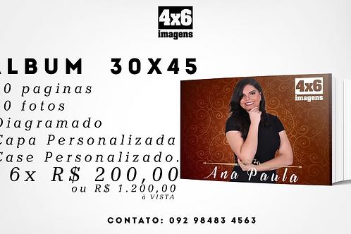 Photobook 30x45cm com Estojo Personalizado