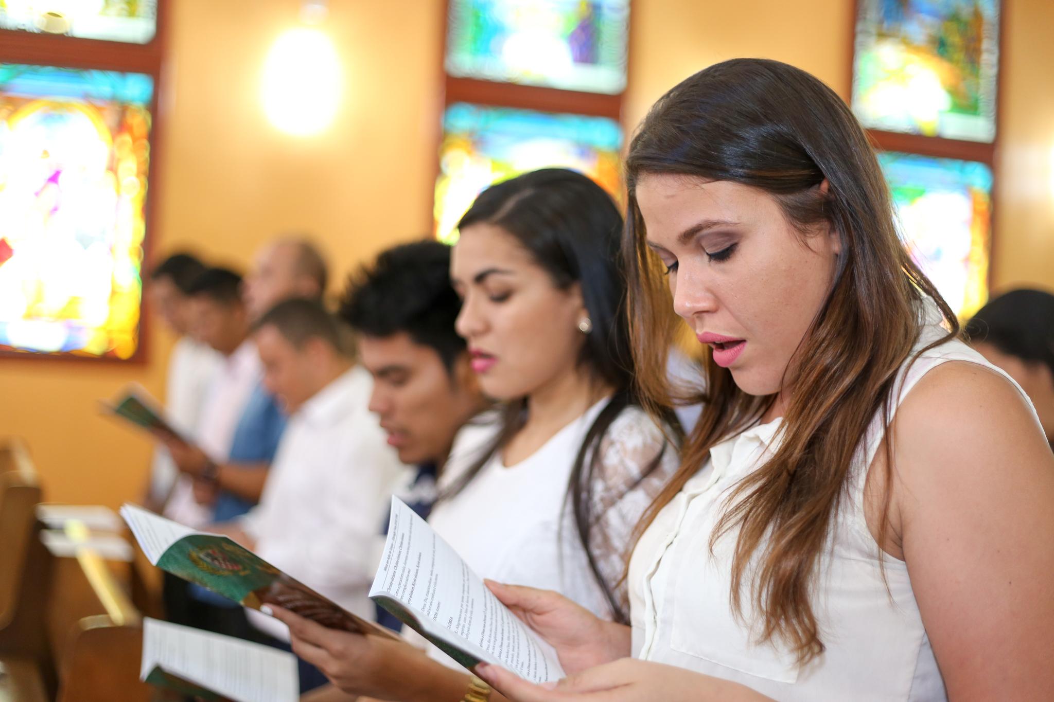 Missa em Ação de Graças 4x6 Imagens
