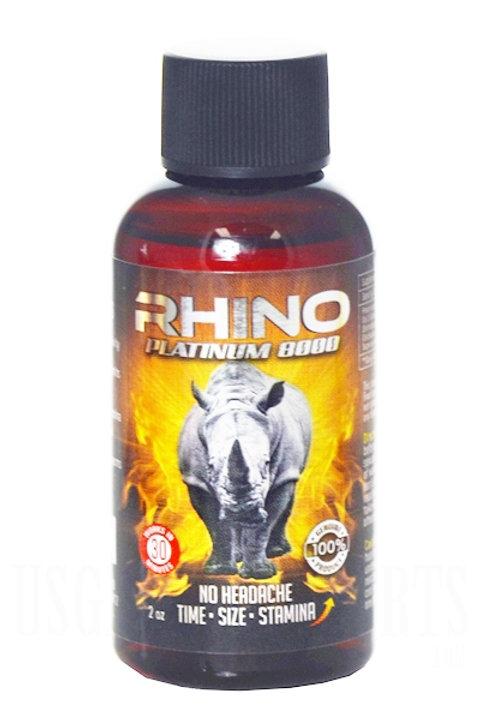 RHINO PLATINUM 8000 SHOT!
