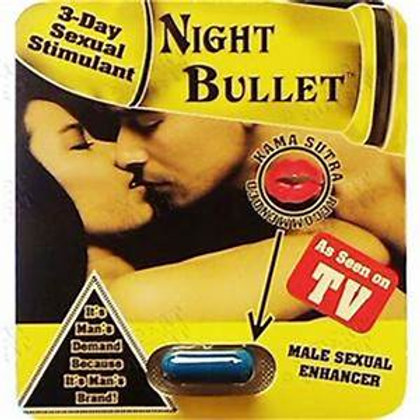NIGHT BULLET MALE SEXUAL ENHANCER