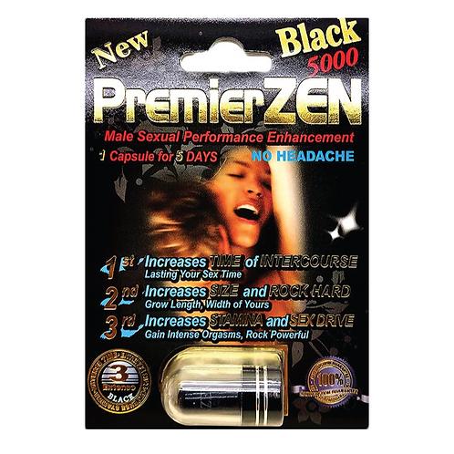 PREMIER ZEN BLACK 5000 Male Sexual Performance Enhancement