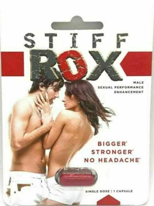 STIFF ROX MALE SEXUAL PERFORMANCE ENHANCER PILL