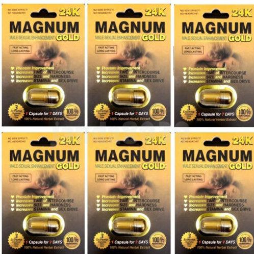 MAGNUM GOLD 24K! (6 PAKS)