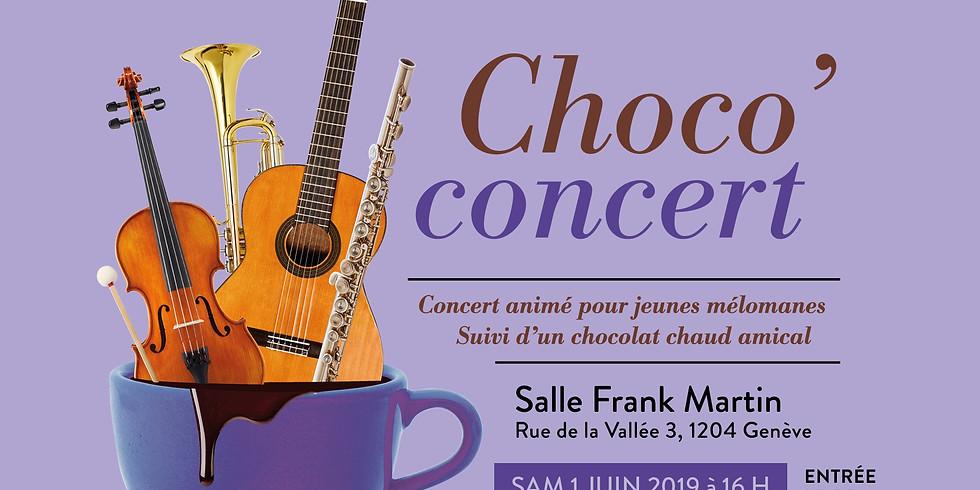 Kakaókoncert: A hangszerek fesztiválja (Choco'concert: Festival des Instruments)