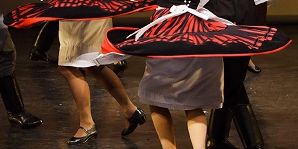Pannonia néptáncbemutató és táncház