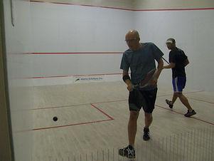 Matt Grigg, Level 3 squash coach, Fish Creek Squash club pro