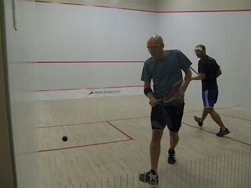 Matt Grigg Fish Creek Squash Club Coach