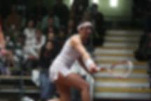Leona Faller, Certified level 2 squash coach and Fish Creek Racquet Club Squash Pro