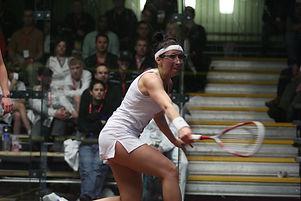 Lenoa Faller, Level 2 squash coach, Fish Creek Squash Club Pro
