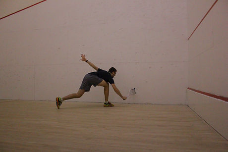 Kiefer Waite, Level 2 squash coach, fish creek squash club pro, private lessons coach