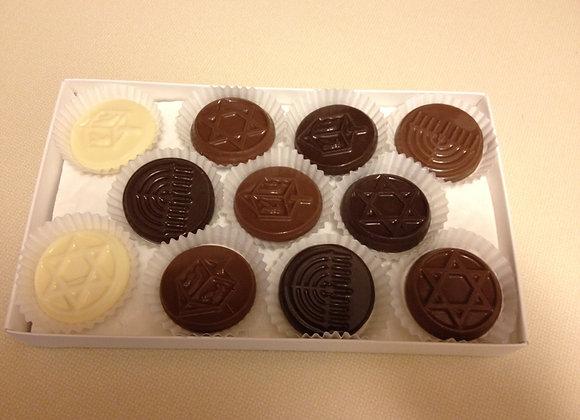 Hanukkah Chocolate Box
