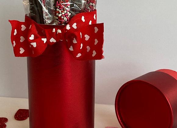 Valentines Pretzel Box